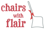 Chairs with Flare logo