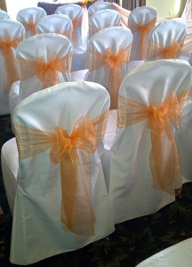 Crown Back Chair Covers