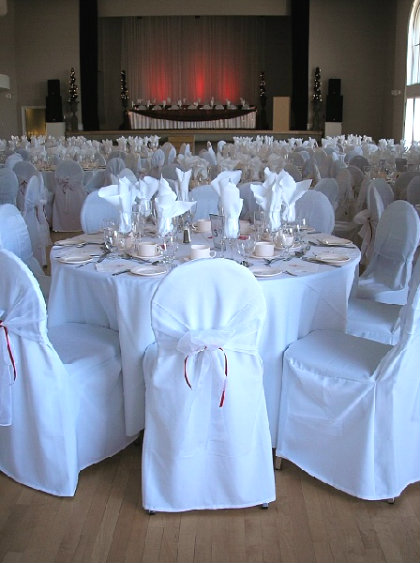 Round Back Chair Covers