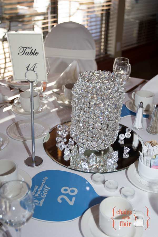 Table decor bling
