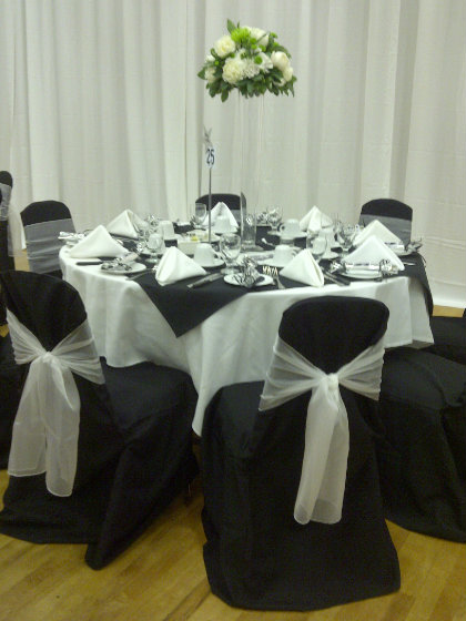 Stupendous Black Chair Covers Chairs With Flair Machost Co Dining Chair Design Ideas Machostcouk